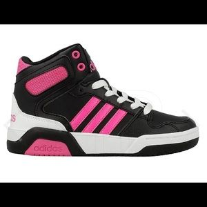 Adidas BB9TIS Pink and black sneakers